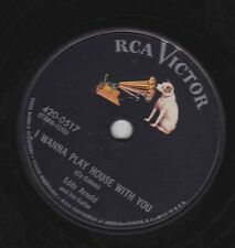 Eddy Arnold – 78 rpm RCA Victor 420-0517: I Wanna Play House With You/Something