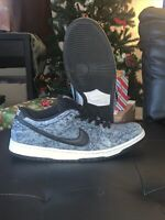 Nike Dunk Low Pro SB Bleached Denim Size 12 Used Mens Skate