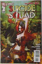 SUICIDE SQUAD #1 [New 52; Harley Quinn; Adam Glass & Federico Dallocchio]