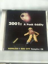 Hopeless Sub City 2001 Punk Oddity CD 8TRACKS Rock w/Thrice, Mustard Plug MORE!