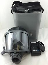 Scott/SEA Domestic Preparedness Gas Mask w/ ST Powered Voice Amp & Hard Case