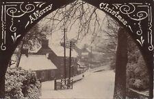 Super RP c1905: MORPETH. The Sun Inn, High Church, snow scene