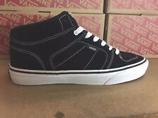 VANS Ellis Mid Black/White/Gum Casual Shoes MEN'S 6.5 WOMEN'S 8