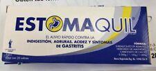 Estomaquil~Relief of Nausea Heartburn Diarrhea & Fullness~Box with 20 Envelopes