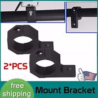 2x 1inch~2inch Off Road Bull Mount Bracket Tube Clamps For HID Led Light Bar