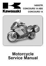 Kawasaki Concours 1400 GTR Service Repair Maintenance Worshop Manual (08-09)