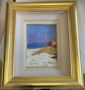 Colley Whisson original oil painting Impressions of the Sunshine Coast
