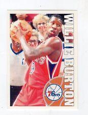 figurina - BASKETBALL BASKET PANINI 1995 95/96 - numero 49 WILLIE BURTON