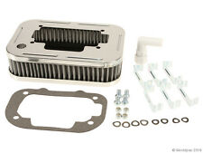 Weber Carburetor chrome air filter - complete assembly with filter and clips