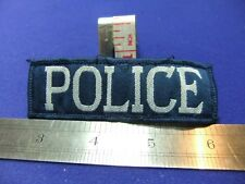 badge title police constabulary embroidered cloth uniform badge obsolete