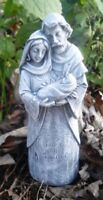 Latex only small Mary w/baby mold plaster cement concrete casting  mold