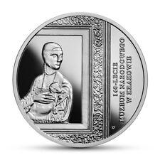 140 Lecie Muzeum Narodowego w Krakowie-20 złotych-2019r
