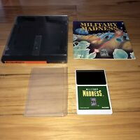 MILITARY MADNESS Turbografx 16 Complete CIC Turbo Grafx Game Super Fun TESTED