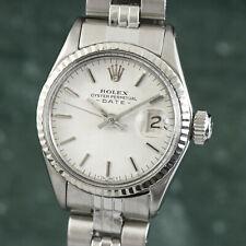 Rolex Lady Date Automatik Edelstahl Damenuhr Oyster Perpetual Ref 6516 Klassiker