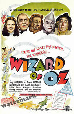 Historical Wall Art - Wizard of Oz Movie Poster 1939  11x17 inches