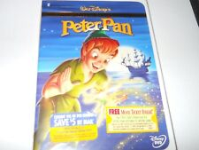 Peter Pan (DVD, 2002, Special Edition) Disney Animation RARE BRAND NEW SEALED