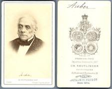 Reutlinger, Paris, Auber Vintage carte de visite, CDV .Daniel-François-Esprit
