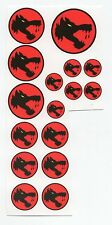 Battletech 1/60th scale Clan and IS Insignia decals- Wolf's Dragoon