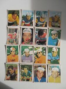 1970 complete set 80 cycling cards Monty multiple Eddy Merckx Gimondi Poulidor