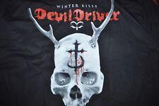 DICKIES Black Full Zip WINTER KILLS DEVIL DRIVER UNLINED Jacket Mens SIZE 3XL