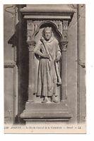 80 - cpa - die Kathedrale-d'AMIENS - Detail der Portalvorbau central (F1982)