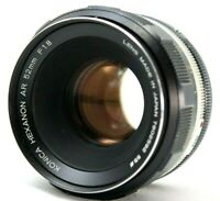 Konica Hexanon AR 1:1.8 52mm Lens *As Is* #X006c