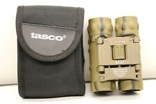 Tasco Camo Compact Binoculars 8x21 165BCR Fully Coated Optics with Carry Pouch