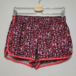 Victoria's Secret Shorts Womens Small VSX Pink Blue Athletic Nylon Lined Runners