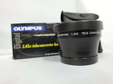 Olympus - 1.4x Teleconverter Lens with Leather Pouch For 500/600 Series Cameras