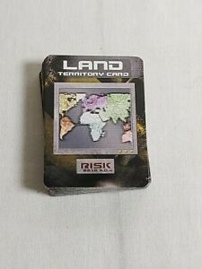 Risk 2210 A.D. Game Replacement Land Territory Cards 44 Cards Avalon Hill 2001