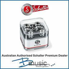 Schaller 14010201 Guitar Security Strap Locks - Chrome