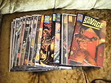 DOC SAVAGE LOT 17 issues MIX BY DC & MILLENNIUM c-list ALL  VF-NM