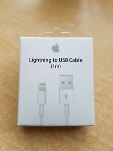 Genuine Apple iPhone 5 6 6S 7 Plus SE 5 5S iPad Lightning To USB Charger Cable
