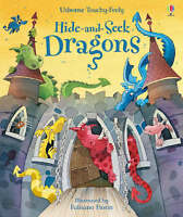 (Good)-Touchy-feely Hide and Seek Dragons (Hardcover)-Watt, Fiona-0746077602