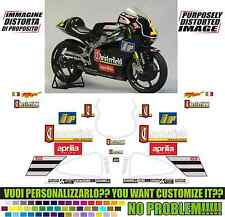 kit adesivi stickers compatibili  RS 250 1998 CHESTER GP REPLICA