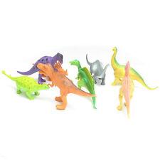 8 PZ borsa di Dinosauri Bambini Modello Figure T Rex STEGOSAURO JURASSIC Toys