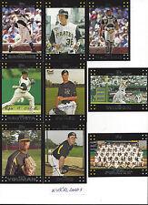 2007 Topps Pittsburgh Pirates Team Set Ronny Paulino JasonFreddy Sanchez Bay 17