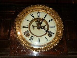 Ansonia clock. 1882. USA. Original clock