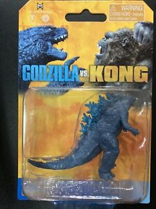 Unreleased Playmates Godzilla VS Kong mini monster 5cm Godzilla figure moc rare