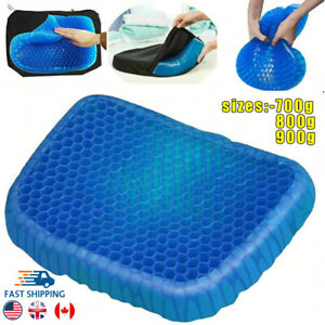 Double Thick Egg Gel Seat Cushion Soft Honeycomb Cushion for Office Chair Car