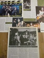 Kiss, Three Page Vintage Clipping