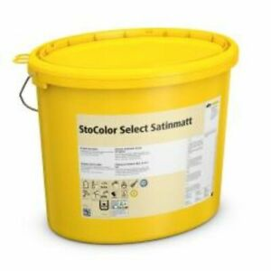 StoColor Select Seidenmatt 4 Eimer a 15Liter,Latexfarbe,Innenfarbe,Wandfarbe