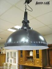 Deckenlampe Industriedesign Loft Shabby-Chic Fabrik Metall Lampe ANTIK LUX