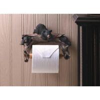 NEW Cowboy Boots Bathroom Toilet Bowel Paper Holder Rustic Western Cabin Decor