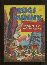 DELL FOUR COLOR #142 (7.0) BUGS BUNNY AND THE HAUNTED MOUNTAINS