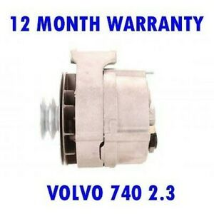 VOLVO 740 2.3 1986 1987 1988 1989 1990 REMANUFACTURED ALTERNATOR