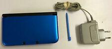 Nintendo 3DS XL Konsole Spielkonsole Blau Schwarz + Ladekabel