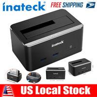 "Inateck USB 3.0 SATA 2.5""/3.5"" HDD SSD UASP Hard Drive Docking Station Card"