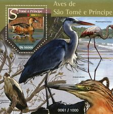 São Tomé e Principe entro il 2015 MNH UCCELLI IV S / S fulvous WHISTLING Duck Anatra