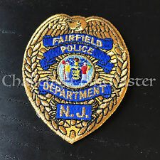 NJ Fairfield New Jersey Police Patch NEW FREE SHIPPING